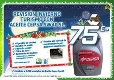 Oferta especial Revisión de Invierno - Navidad 2013 (del 24 de noviembre al 24 de Diciembre). Más info en www.aurgi.com
