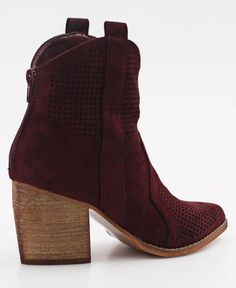 Capital - Burgundy Burgundy, Ankle Boots, Booty, Lady, Heels, Fashion, Ankle Booties, Heel, Moda