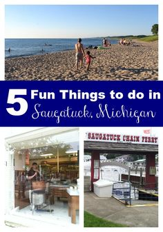 We found the top 5 things to do with families when visiting Saugatuck, Michigan in the summertime. Michigan Vacations, Michigan Travel, Dream Vacations, South Haven Michigan, Holland Michigan, Saugatuck Michigan, Lake Michigan, Western Michigan, Wisconsin