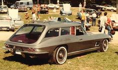 Corvette Shooting Brake, 1967. Not sure what the story is behind this custom wagon but it's pretty cool.