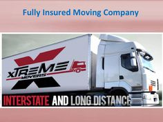 Fully insured moving company  Here are a list of our moving services at Xtreme Movers. We are a fully licensed moving company that offers to ensure a stress-free moving experience!
