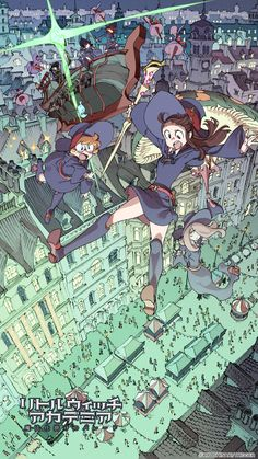 Studio Trigger is proud to announce that the first official website and teaser image for Little Witch Academia the Enchanted Parade is ready to launch next week!