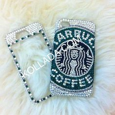 Starbucks iPhone Case!!! Cell Phones & Accessories - Cell Phone, Cases & Covers - http://amzn.to/2iNpCNS