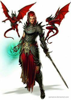 Female Human Warlock