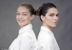 Plait's a good friend!For her final recreational piece, she enlisted the help of best friend Gigi, as the starlets wove their hair together to imitate the work by Marina Abramovic and Ulay