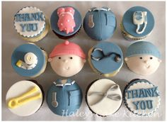 midwife cupcakes. How thoughtful, those would make anyone's day! Thank your midwife today!