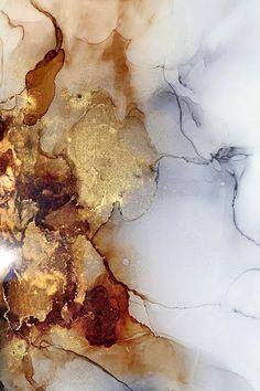 Minimalist art 566116615659051768 – Tableau abstrait encadré brun or gris blan… – Malerei Alcohol Ink Painting, Alcohol Ink Art, Bild Gold, Art Minimaliste, Minimal Art, Gold Aesthetic, Iphone Background Wallpaper, Wallpaper Art, Art Mural