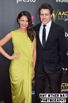 Steve Peacocke and his wife Bridgette Sneddon <3