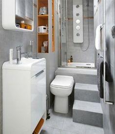 15. Casa de banho compacto, 17 formas de transformar um estúdio sem espaço num apartamento acolhedor - (Page 15)