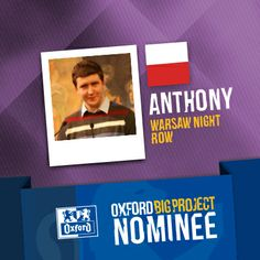 Vote for his project: http://www.oxfordbigproject.com/en/project-nominee/warsaw-night-row