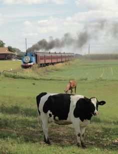 One of Lancaster County's favorite kids events. Thomas chugs into Strasburg Rail Road.