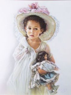 Sandra Kuck - child with doll