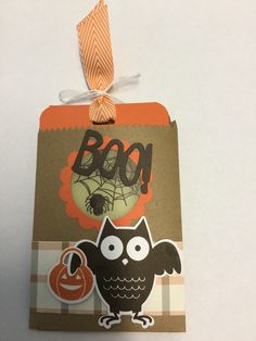 Stampin' Up! Boo To You August 2015
