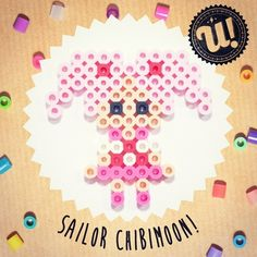 Sailor Chibimoon hama beads by unipireu