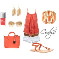 """Summer Days"" by cindycook10 on Polyvore"