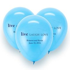 (Too expensive from DB, but I like the idea) Personalized balloons by David's Bridal #bridalshower #decor