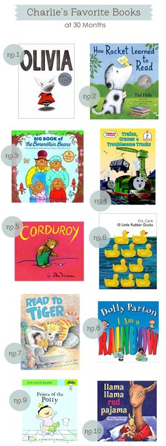 books for 2-3 year olds