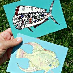 Fishy Postcards