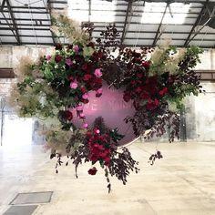 Deco Floral, Arte Floral, Flower Decorations, Wedding Decorations, Wedding Flower Alternatives, Floral Wedding, Wedding Flowers, Flower Installation, Floral Chandelier
