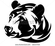 Стоковые фотографии и изображения Tribal-black-bear-tattoo | Shutterstock
