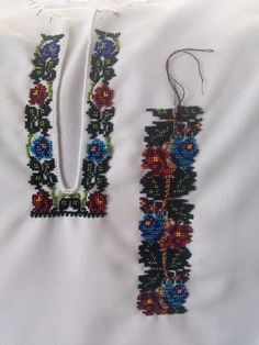 Preschool Crafts, Beaded Embroidery, Brooch, Beads, Costume, Jewelry, Needlepoint, Dots, Beading