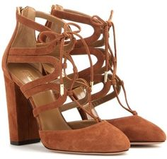 Aquazzura Escarpins En Daim Holli 105