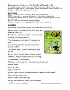Worksheets, Sentences and Simple sentences on Pinterest