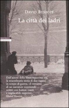 David Benioff: City of thieves | italian cover | #davidbenioff #book #cover #bookcover #russia #worldwar #stpetersburg #winter