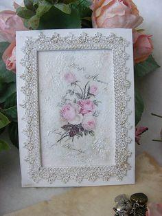 Ružičky ... / rámik na foto / giovana - SAShE.sk - Handmade Rámiky