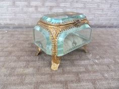 Pin by Craftmom on antique jewelry boxes Pinterest Nice