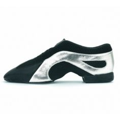Bloch Slipstream, Jazz Shoes Black leather and mesh slip on upper with an elastic lacing system for a secure fit. Jazz Shoes, Colour Black, Black Silver, Black Leather, Mesh, Slip On, Fit, Sneakers, Fashion