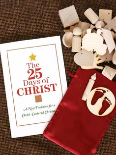My Sister's Suitcase: 25 Days of Christ - Ornament Kit Giveaway! Love this:)