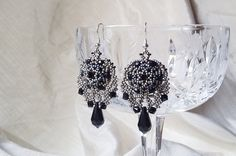 Gothic Earrings by Margiques on Etsy