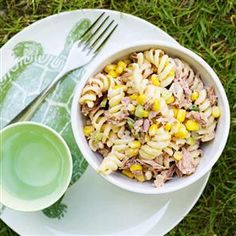 Tuna Pasta Recipe Great for Summer! Plus it'll keep for a couple of Day's if Stored in a Tub in the Fridge. Money Saving Tip: Make More than you want & then take the Left Over into University the Next Day for Dinner instead of Buying Out.