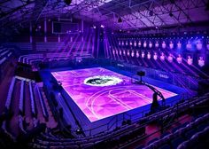 Nike Interactive LED Basketball Court. - Coverstories