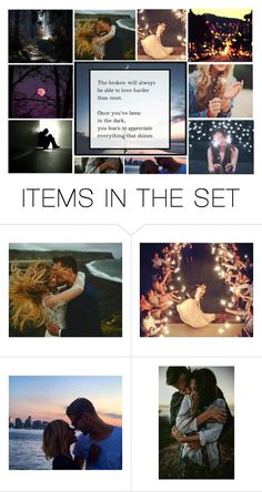 """The dark and the light"" by heartandsoul ❤ liked on Polyvore featuring art"