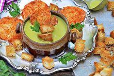 Nyárköszöntő zöldségkrémleves, sajt chips-el, bögrésen | Rupáner-konyha | Bloglovin'