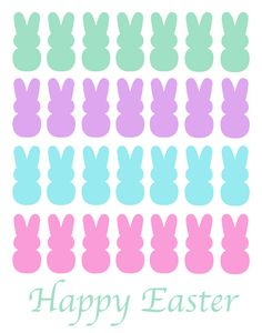 Easter Peep Printables - Come see a fun and colorful collection of free printables around the popular Easter Peeps! {The Love Nerds} Easter Wallpaper, Holiday Wallpaper, Wallpaper Iphone Cute, Cellphone Wallpaper, Holiday Backgrounds, Easter Peeps, Happy Easter, Easter Bunny, Peep Image