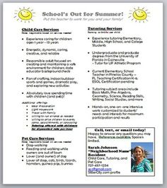sample of leaflet for tuitions ads - Google Search | ads examples ...