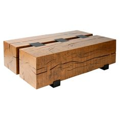 Two Timber Cocktail Table Mimi London Inc.