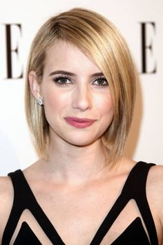 Click here for our favorite celebrity inspirations of the modern bob and more.
