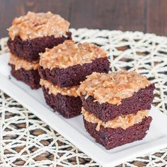 German Chocolate Cake – moist and delicious, one of the best cakes ever.