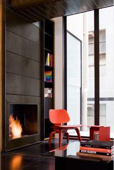 Steel fireplace surround?