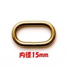 誠和 SEIWA 真鍮金具 ブラス 小判カン 15mm http://ift.tt/2nCOuxx #手芸 #手芸用品 #ハンドメイド #もりお