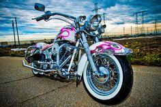 For me, pink Harley Davidson motorcycle.