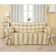 capa de sofá - tipo universal-frete gratis 2 lugares em brim