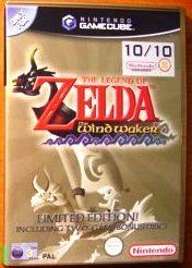The Legend of Zelda - The Wind Waker Limited Edition includes Bonus Disc with Ocarina of Time & Master Quest (Nintendo Gamecube)