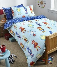 This Kids Single Bed Duvet Cover With Matching Pillowcase Is Available From And Features Both