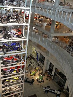 Home to the world's best motorcycle collection, the museum now has over 1200 vintage and modern motorcycles and racecars and the largest collection of Lotus cars as well as other significant makes. The collection is the largest of its kind in the world. There are approximately 600 of the 1200 motorcycles on display at any given time.