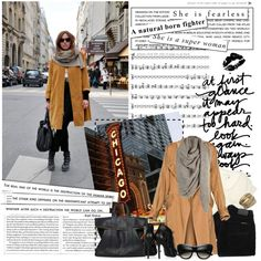 Black jeans & boots... created by sevilay1987.polyvore.com